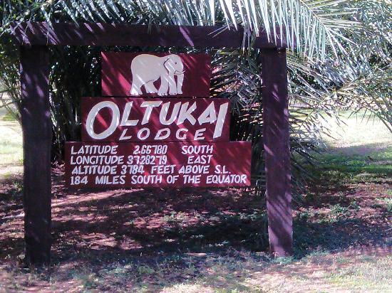 Ol Tukai Lodge: The entrance