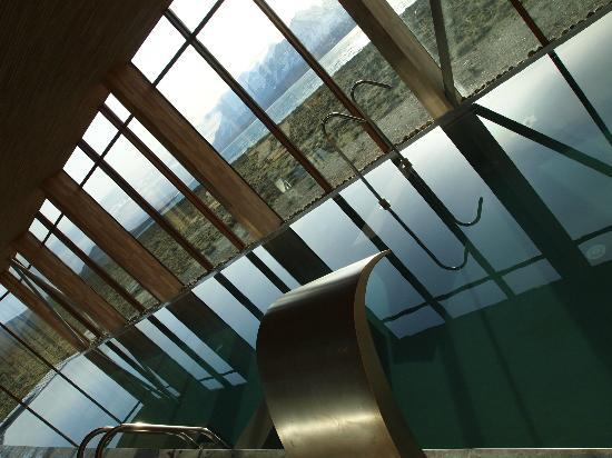Tierra Patagonia Hotel & Spa: This must be one of the most spectacularly sited pools in the world.