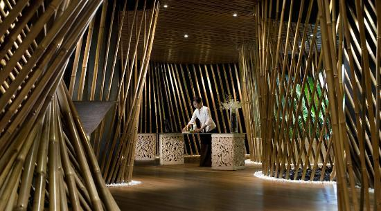 Bamboo Spa by L'Occitane: Lobby Bamboo Spa