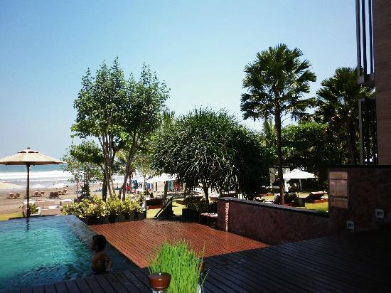 Anantara Seminyak Bali Resort: View from Wild Orchid Restaurant