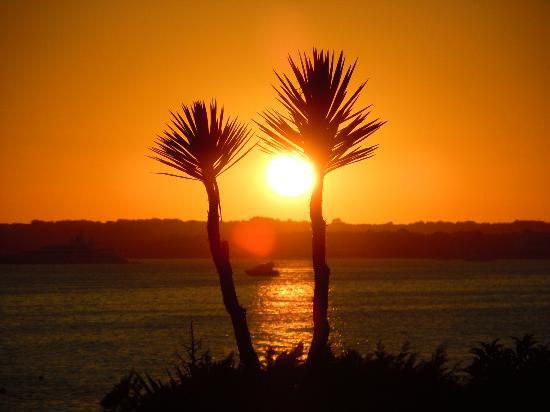 Insotel Club Maryland: tramonto dal villaggio