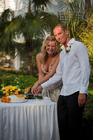 Turtle Bay Beach Club: wedding