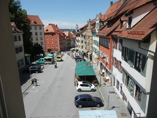 Hotel Obertor: view from window