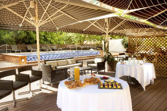 H10 Itaca Hotel: Coffee Break en terraza - Coffee Break in terrace