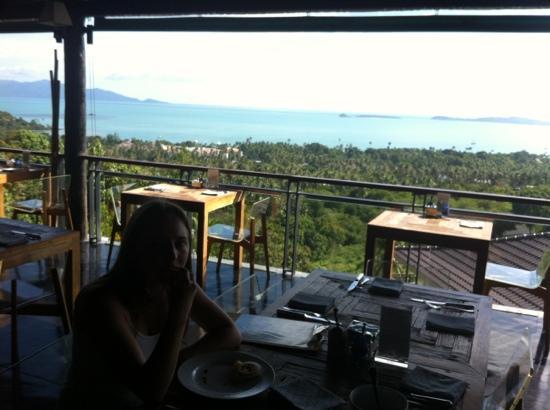 Mantra Samui Resort: view from restaurant