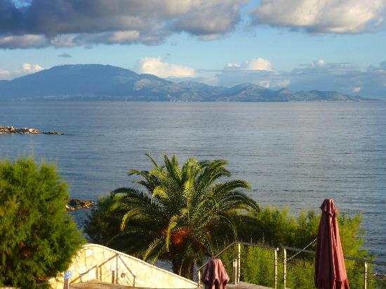 Tsamis Zante: The Island of Kefalonia and the Ionnian Sea as seen from the Hotel