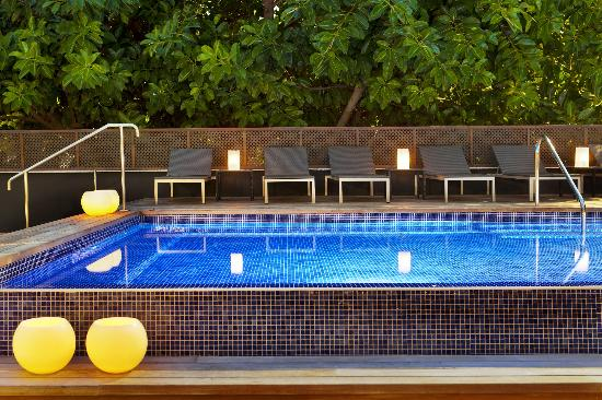 H10 Itaca Hotel: Piscina de noche - Plunge pool by night