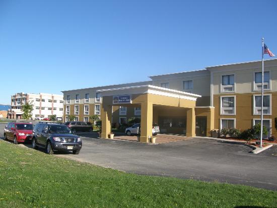 Best Western Rochester Marketplace Inn: Hotel von außen