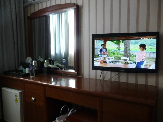 New Life Tourist Hotel: Updated TV