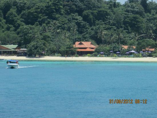 P.P. Erawan Palms Resort: Dal Mare....l'Erawan