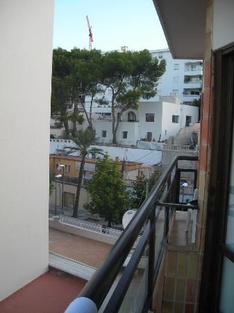Be Live Adults Only Costa Palma: view from 2nd room on the 6th floor to the back