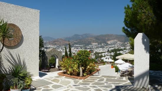 Hotel Manastir: Blick auf Budrum