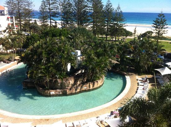 Oaks Calypso Plaza Resort: View from room