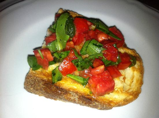 Villa Rina Country House Amalfi: Bruschetta with tomato and basil