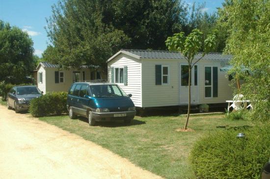 Camping La Ferme de Perdigat : résidence mobile