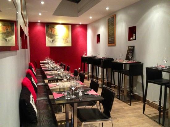Le Quartier Gourmet : la salle