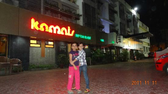 VITS Hotel Nashik (Kamats Hotel Siddharth) : outside the hotel