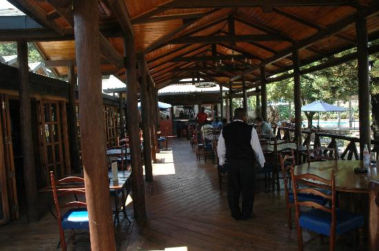 Aero Club of East Africa Restaurant: outside dinning area