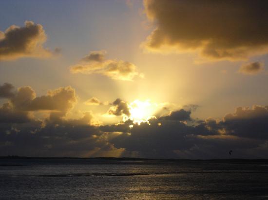 Camping L'Orée du Bois : Sunset at the port