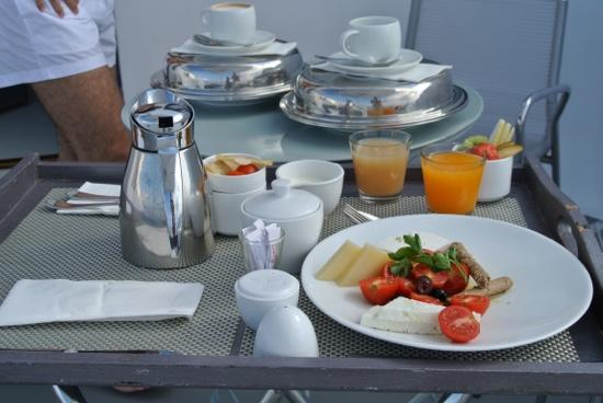 Chromata Hotel: THE BREAKFAST!!!!!!! /Mike&Tati, Sep'12/