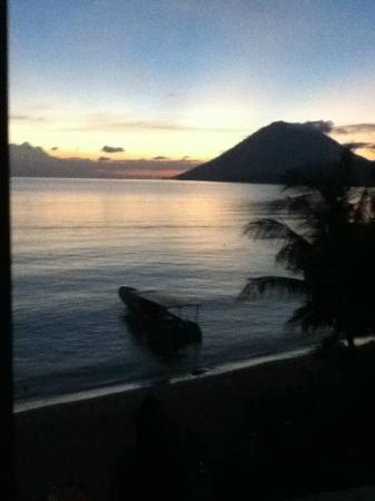 Bunaken Island Resort: View from beach front villas