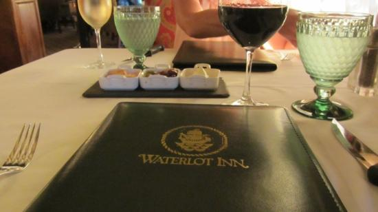 Fairmont Southampton: Dinner at the Waterlot
