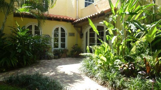 Grandview Gardens Bed & Breakfast: Eingang 