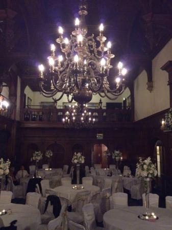Rhinefield House Hotel: grand hall