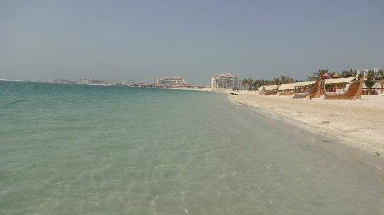 Rixos The Palm Dubai: view on the right side from hotel