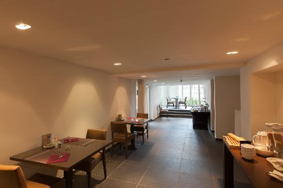 Hotel Geeraard: Breakfast Room