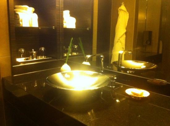Hyatt Regency Dusseldorf: Shiny sink ;)