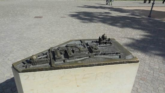 Museumsinsel: Model of the island