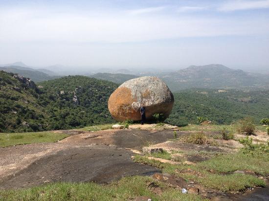 Horsley Hills: The cliff edge