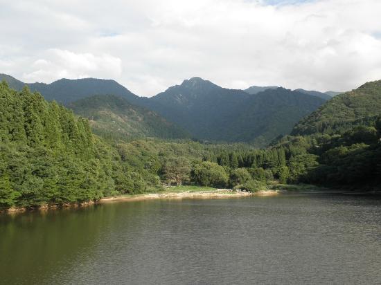 Canyon Daigenta: 大源太山が良く見えます。