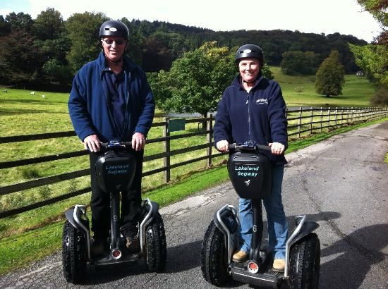 Lakeland Segway: Ian and Sue
