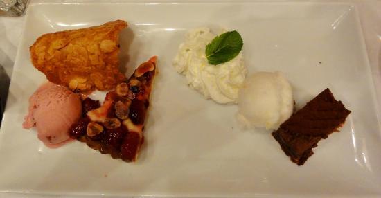 Hotel de la Poste : Amazing dessert part of a 3-course menu