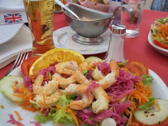 Music Bar Restaurante: Lækker mad