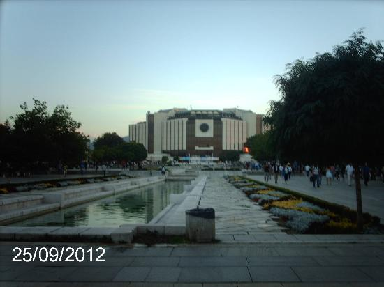 National Palace of Culture Congress Centre : NDK sofia bulgaria