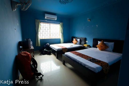 The King Angkor Villa : Twin Room