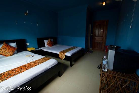 The King Angkor Villa: Twin Room