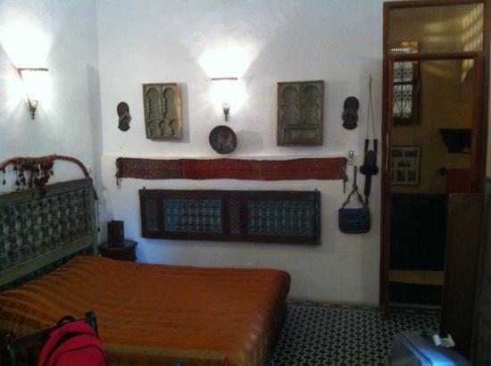 Riad Lune et Soleil: sfeervolle grote kamer