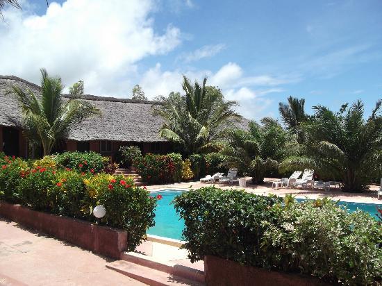 Maya : Les chambres ont vue sur la piscine et la mer