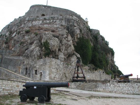 Corfu Town, Grecia: Interior view - artillery defence