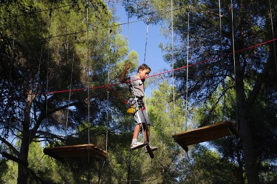 Jungle Parc: recorrido Explorador