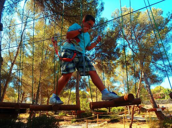Foto de Jungle Parc, Santa Ponsa: Recorrido Piratas (nivel 5) - TripAdvisor
