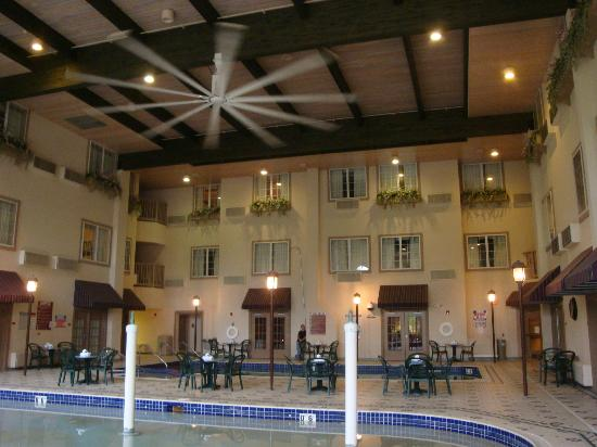 Comfort Suites Milwaukee Airport: Indoor Pool Area