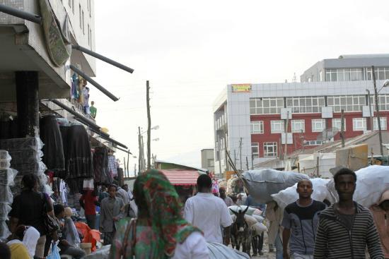 Merkato: Market Scene