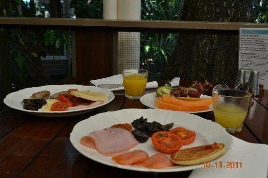 Green Island Resort: la colazione