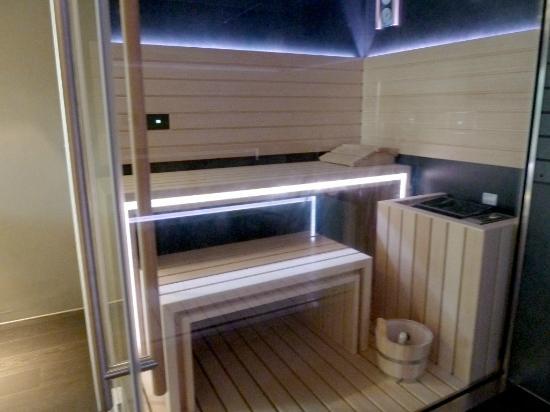 Villa Collepere: La sauna, nel nuovo Centro Benessere
