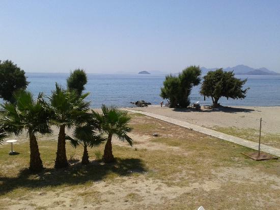 Olympia Mare : 'veduta dal terrazzino'